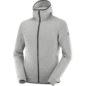 Salomon Sight Hoodie Heren, medium grey/heather